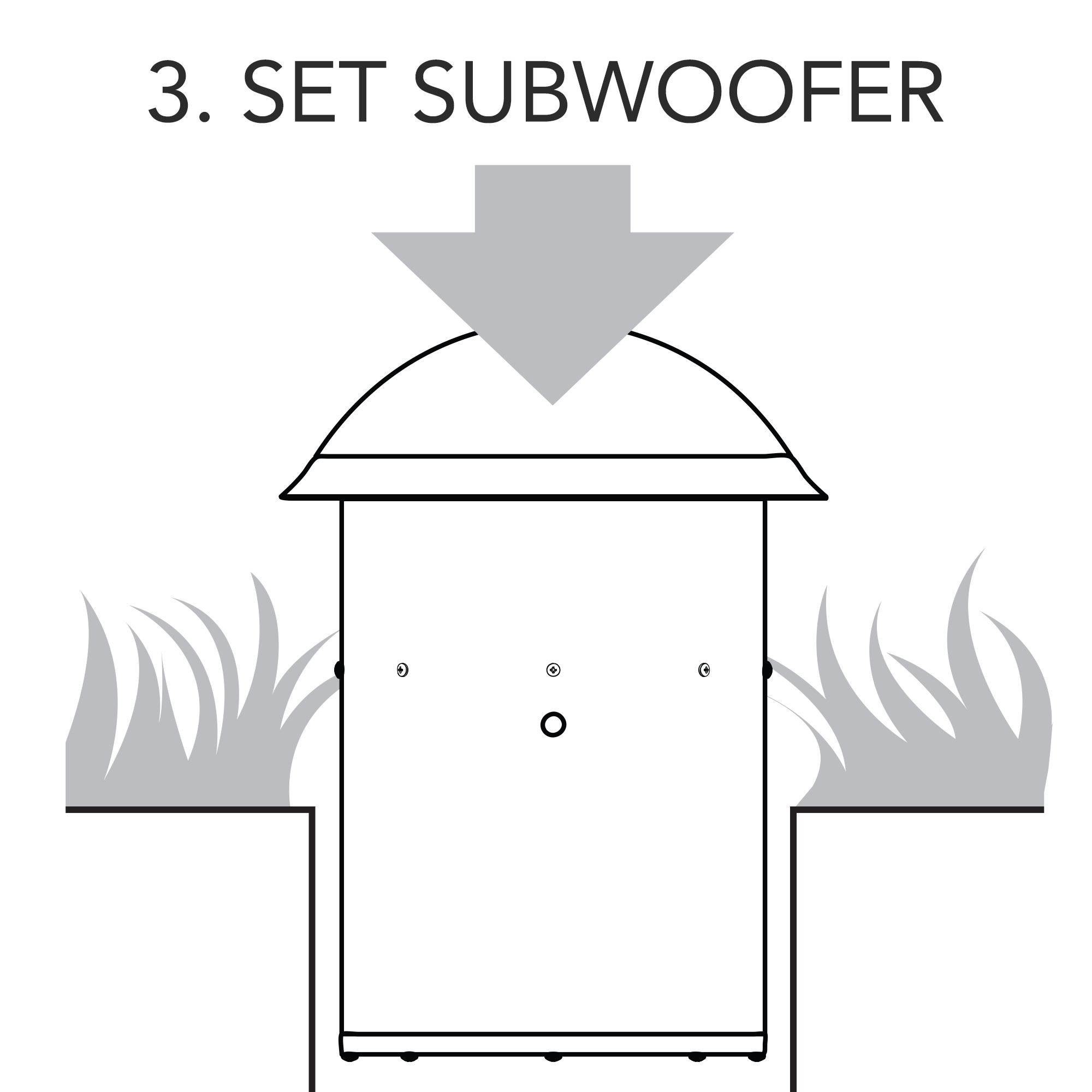 Jamo Diy Landscape Speaker System Subwoofer Wiring Diagram Step 3