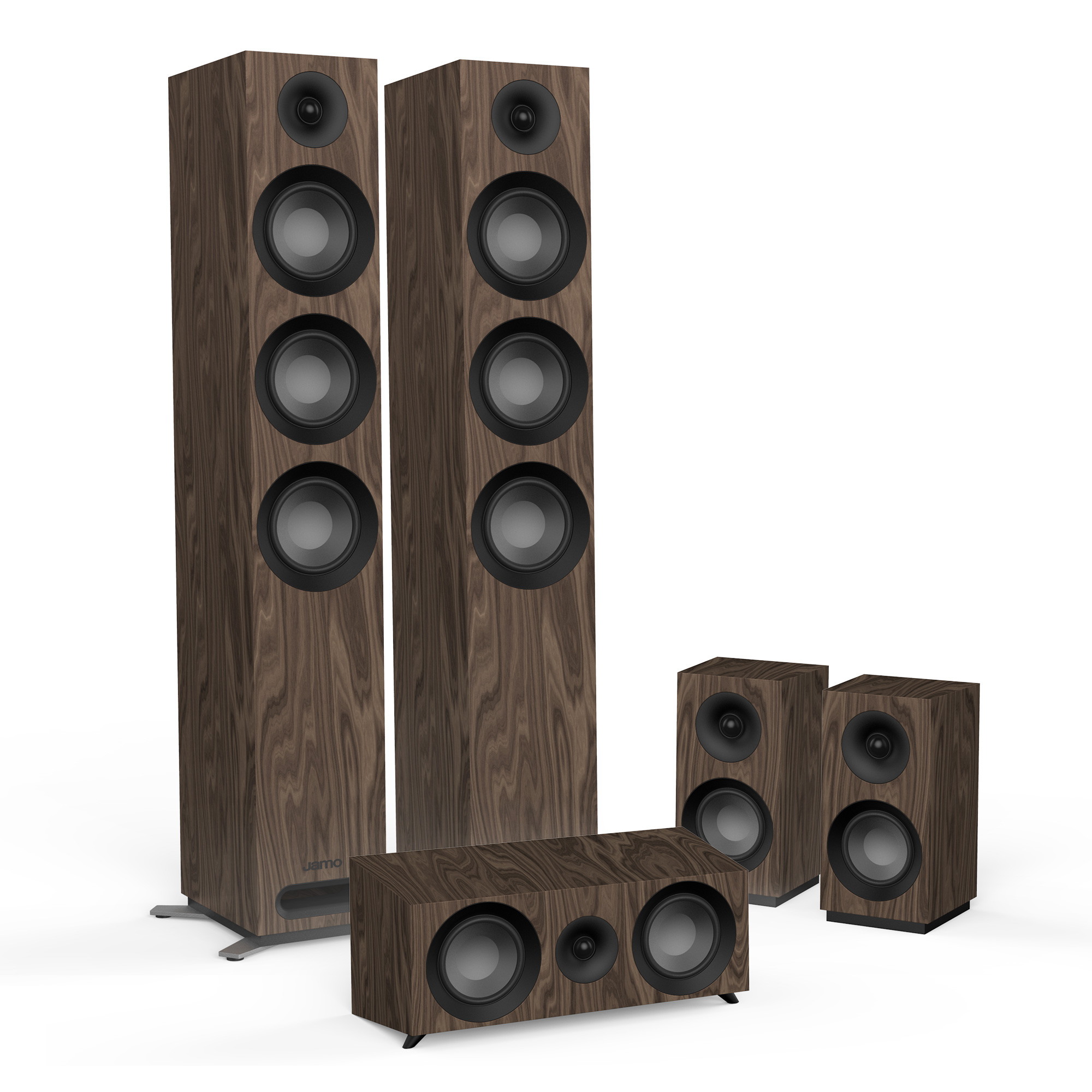 Image result for jamo s809 hcs walnut